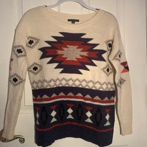 AMERICAN EAGLE Aztec sweater